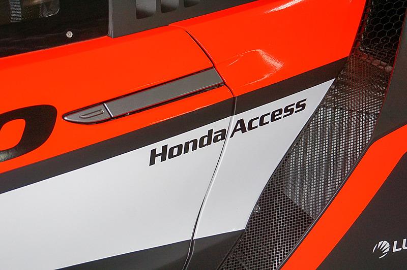 34号車 Modulo KENWOOD NSX GT3のカラーリング