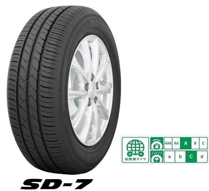 4月1日発売の新型乗用車用低燃費タイヤ「SD-7(エスディーセブン)」