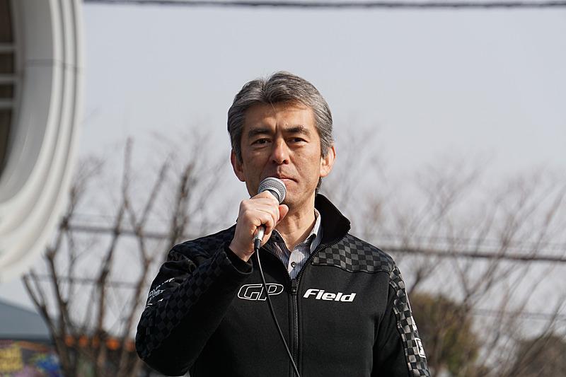 鈴鹿サーキット総支配人の塩津宏幸氏
