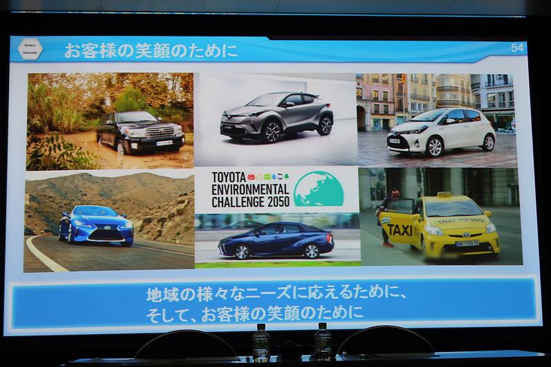 今後も開発を続け、トヨタ環境チャレンジ2050の達成を目指す