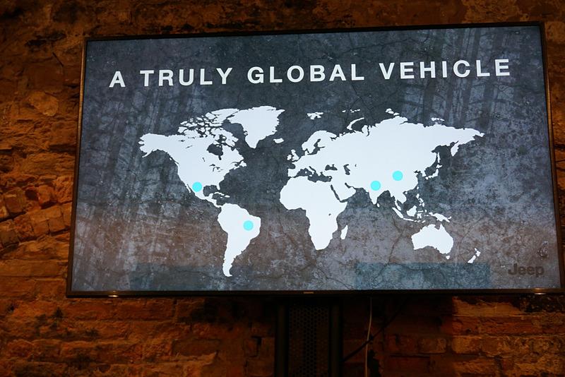 ジープブランドはグローバル展開を行なっていて、工場は北米、南米、インド、中国と4カ所に設けられている