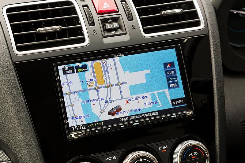 「彩速ナビ」のトップエンドモデルとなる「MDV-Z905」。このほか200mmのワイド2DINサイズ対応の「MDV-Z905W」もラインアップ