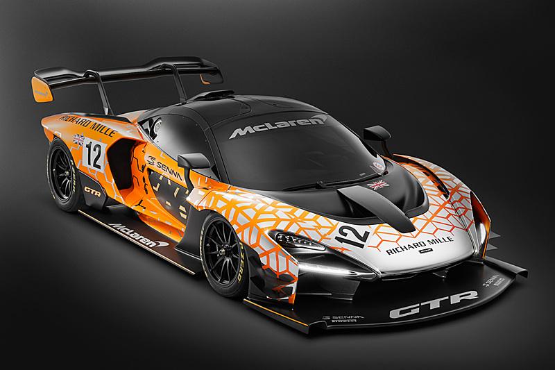 サーキット専用バージョン「マクラーレン セナ GTR」