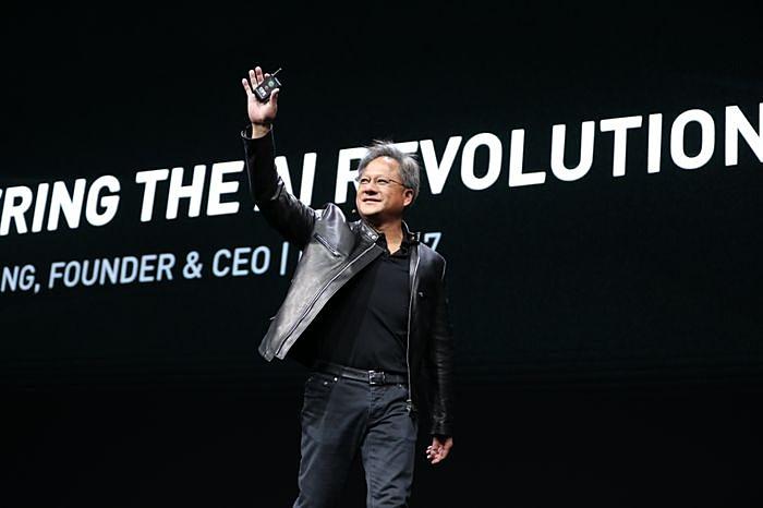 NVIDIA創業者兼CEOのジェンスン・フアン氏