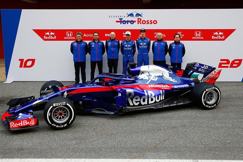 今シーズンから新型マシン「STR13」でF1に参戦するレッドブル・トロロッソ・ホンダが3月17日にファンミーティングを開催