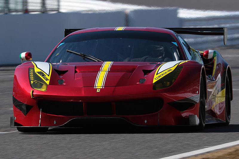 ジャン・アレジ氏はフェラーリ488GT3をドライブ
