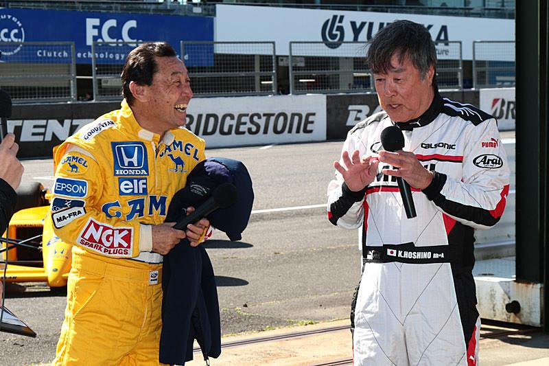 最終対決に向けて意気込みを語る中嶋氏(左)と星野氏(右)