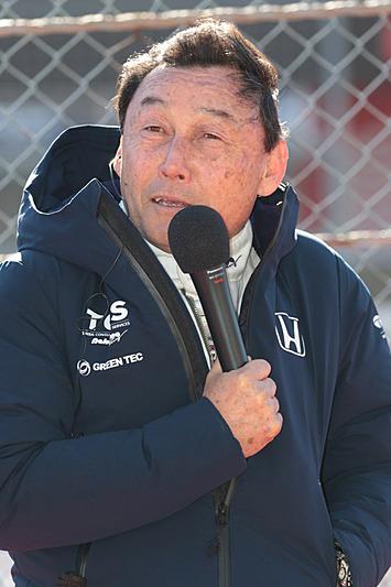 ここまで6勝の中嶋悟氏