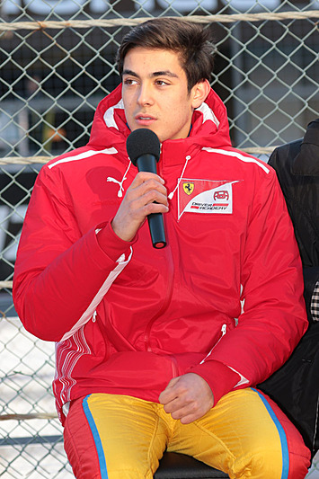 フェラーリ・ドライバー・アカデミーに属するジュリアーノ・アレジ選手