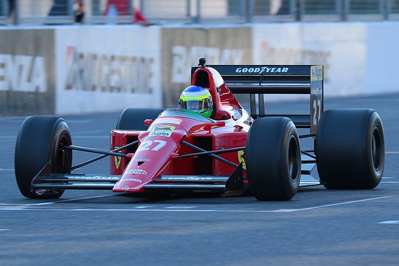 フィジケラ氏が駆るフェラーリ 640