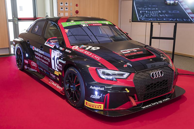 19号車 バースレーシングプロジェクト(Audi Mie RS3 LMS)