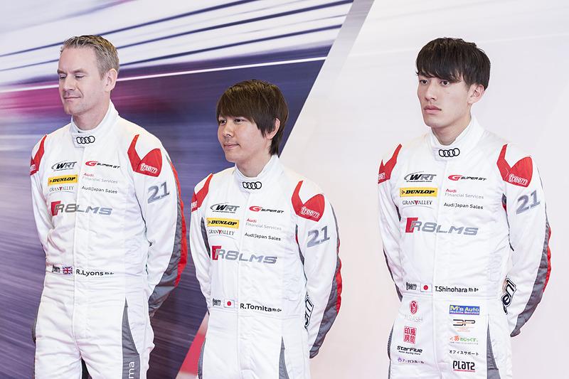 左から、リチャード・ライアン選手、富田竜一郎選手、篠原拓朗選手