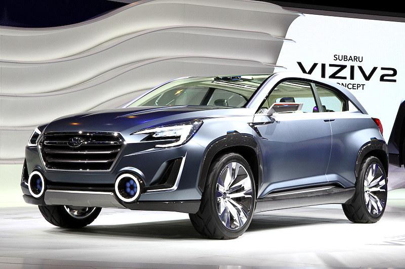2014年3月の「第84回 ジュネーブ国際モーターショー」で世界初公開された「SUBARU VIZIV 2 CONCEPT」