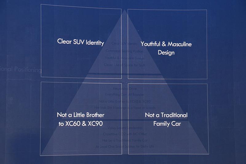 XC40のデザイン要素