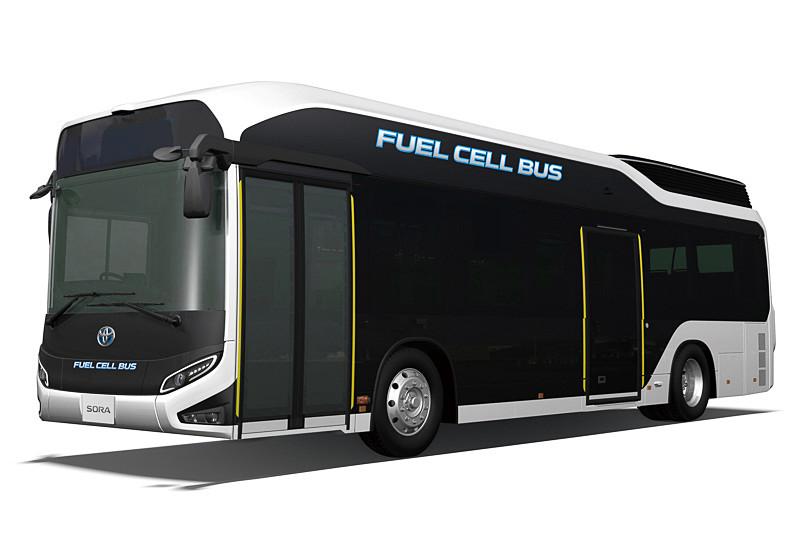 FC(燃料電池)バス「SORA」