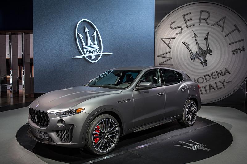 2018年ニューヨーク国際自動車ショーで公開された北米限定の「レヴァンテ トロフェオ ローンチ・エディション」