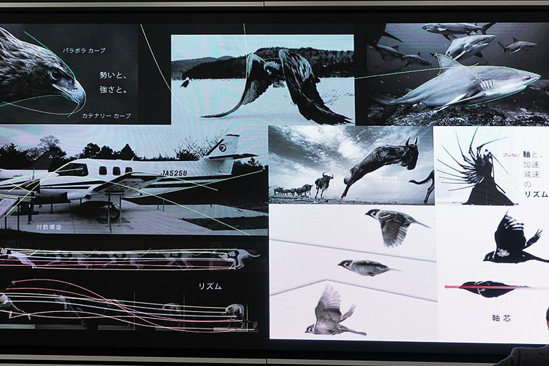 動きのある動物や飛行機からデザイン要素を学ぶ