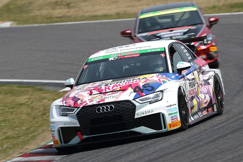 ST-TCRクラス3位の45号車 プリズマ☆イリヤ RS3 LMS(竹田直人/白坂卓也/田ヶ原章蔵組)