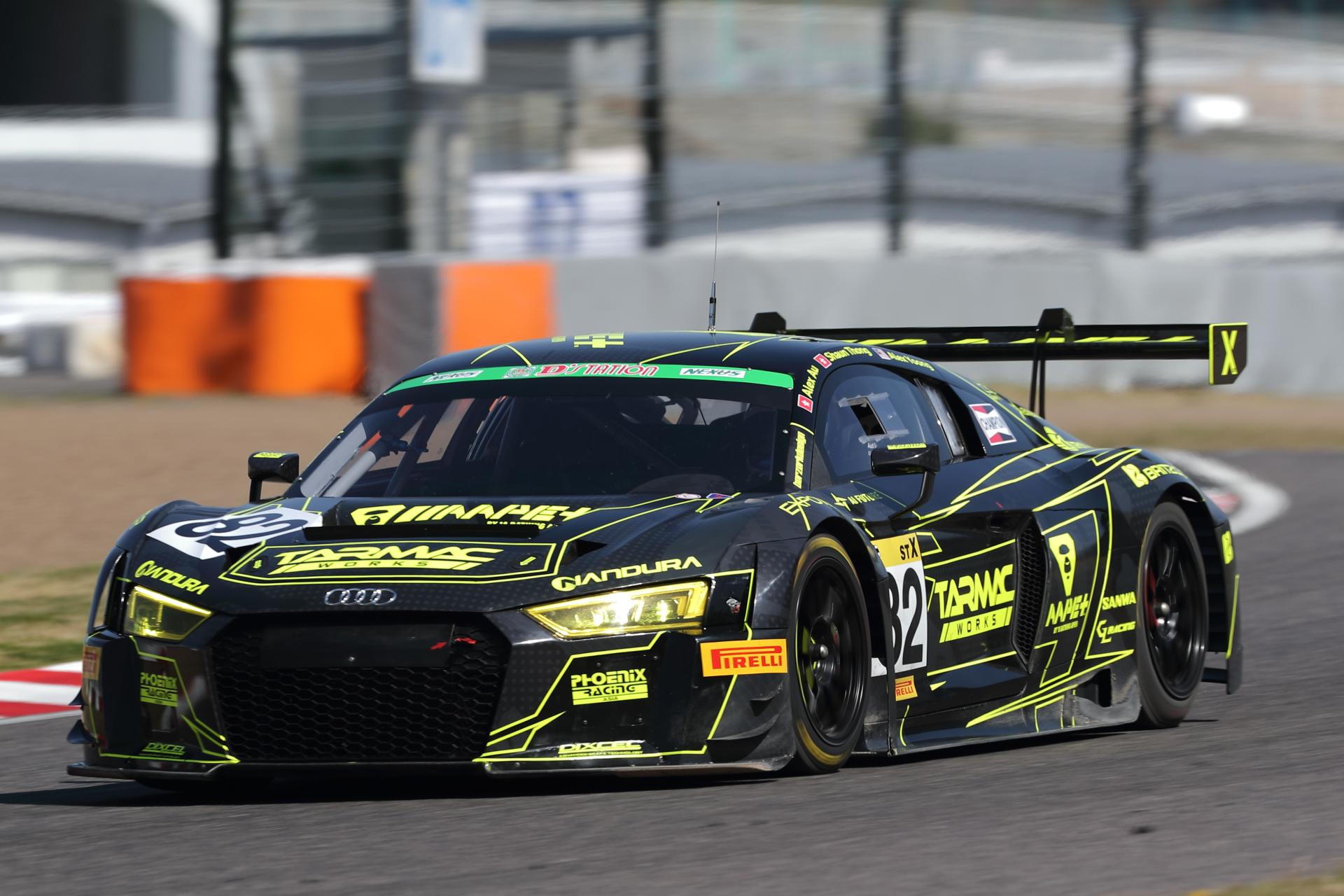 4位 No.82 Phoenix Racing Asia R8(R8 LMS)Alex Au/Alex Yoong/Shaun Thong