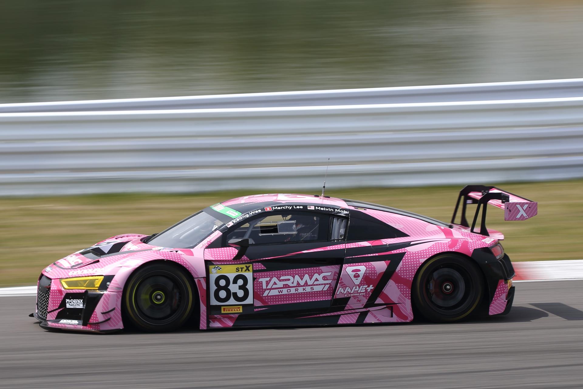 8位 No.83 Phoenix Racing Asia R8(R8 LMS)Lim Keong Wee/Marchy Lee/Melvin Moh