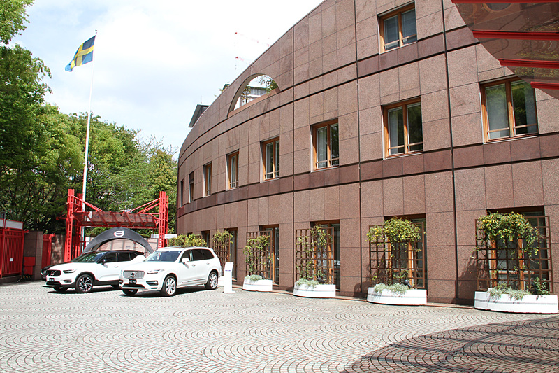 スウェーデン大使館で「VOLVO POP UP STORE in Roppongi」記者発表会を開催