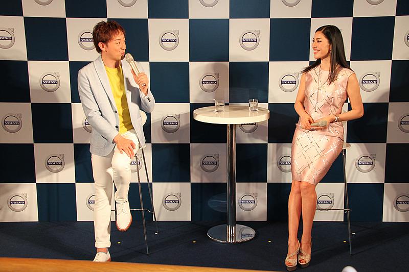 アン ミカさんと山本耕史さんによるトークショーも開催