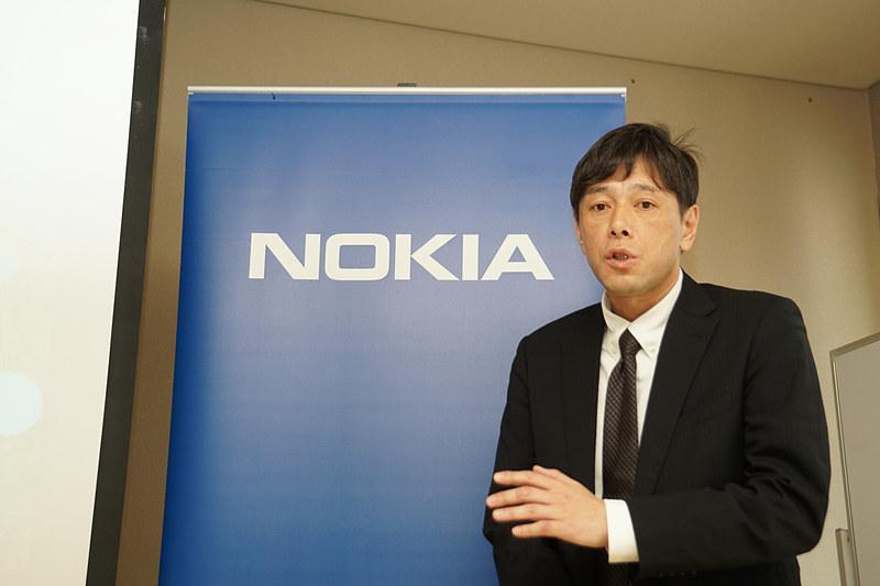 ノキアソリューションズ&ネットワークス合同会社 技術統括部 柳橋達也氏