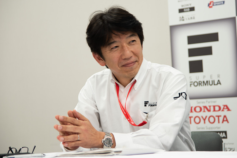 株式会社日本レースプロモーション 取締役 上野禎久氏