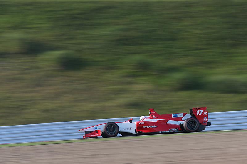 5位の塚越広大選手(17号車 REAL SF14/Honda HR-417E)。5位までホンダエンジンが独占