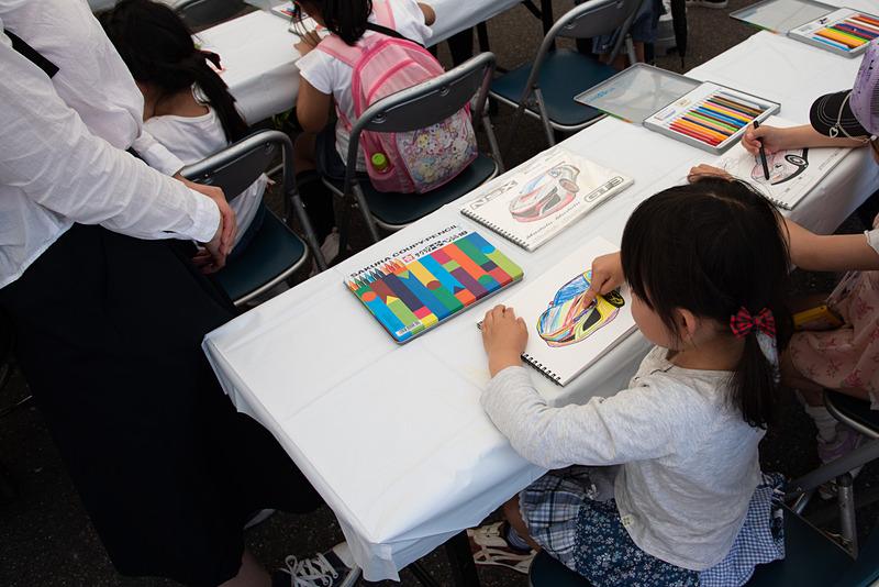 子供とお絵描きが楽しめるホンダアクセスのキッズデサイン研究所