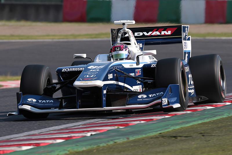 65号車 TCS NAKAJIMA RACING SF14/Honda HR-417Eで開幕戦5位に入賞した伊沢拓也選手
