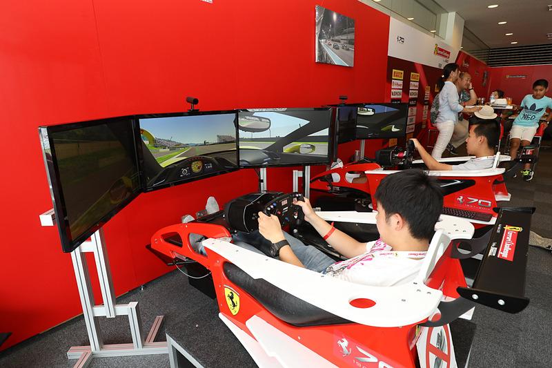 過去の「フェラーリ・レーシング・デイズ」の様子