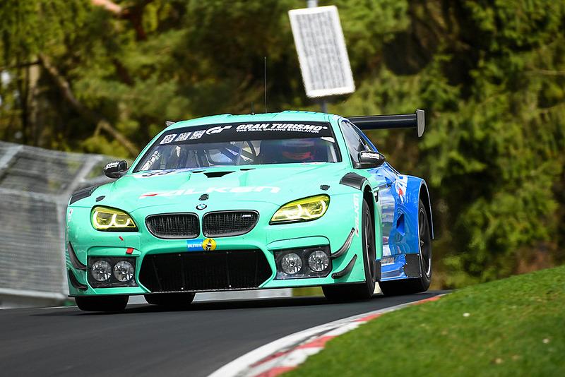 「SP9」クラスでニュルブルクリンク24時間耐久レースに参戦する「BMW M6 GT3」