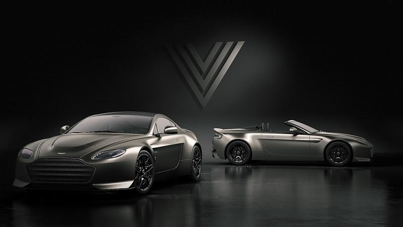 V12 ヴァンテージ V600ではクーペとロードスターを設定。それぞれ7台限定で生産される