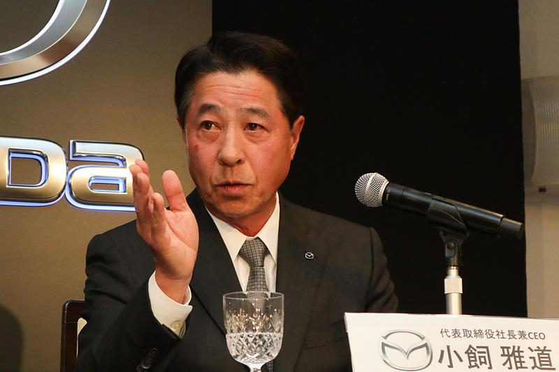 丸本氏の起用理由について「強みを生かし、課題を克服しながら運営していける」という点を挙げた小飼氏
