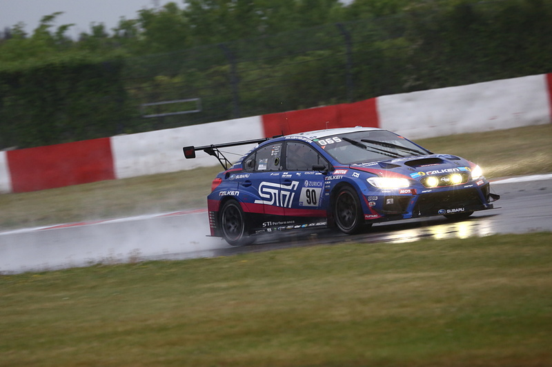 SP-3Tクラストップとなる総合62位を獲得したSubaru Tecnica International Inc.の90号車 Subaru WRX STI