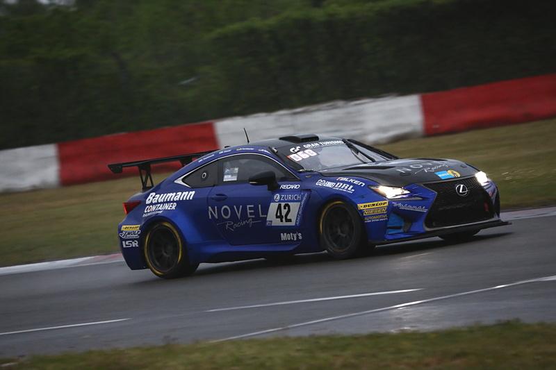 総合45位となったRing Racing with Novelの42号車 Lexus RCF