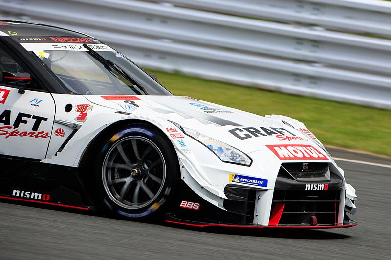 2018年からGT500クラスに参戦する3号車 CRAFTSPORTS MOTUL GT-R(本山哲/千代勝正組)