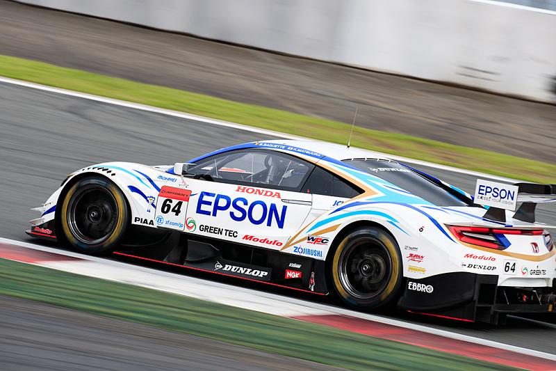 64号車 Epson Modulo NSX-GT(ベルトラン・バゲット/松浦孝亮組)