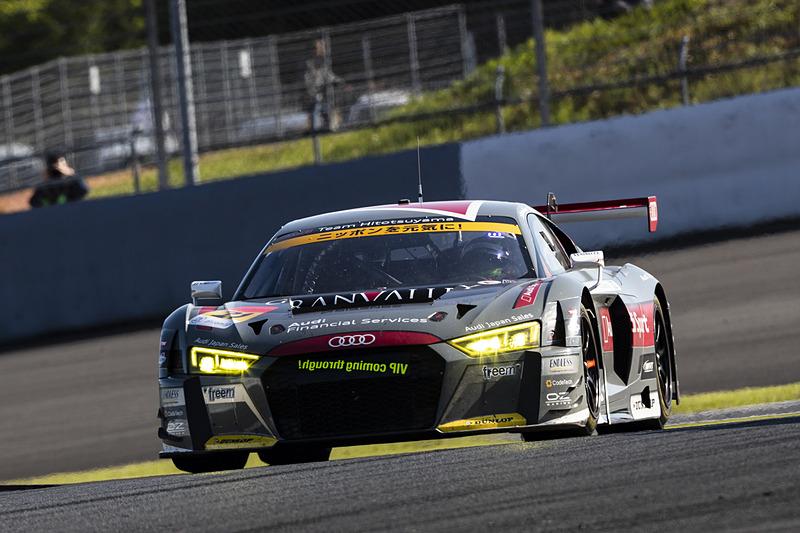 21号車 Hitotsuyama Audi R8 LMS(リチャード・ライアン/富田竜一郎/篠原拓朗組)