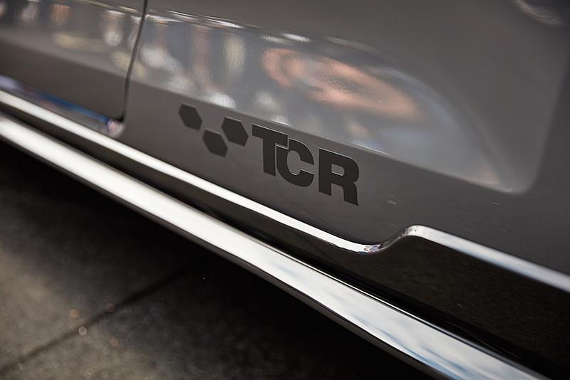 「GTIミーティング」で公開されたゴルフ GTI TCRコンセプトの細部