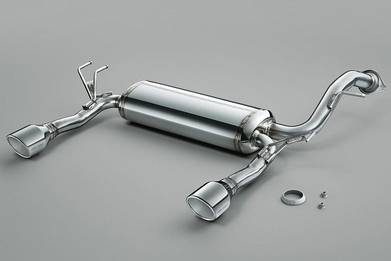 「デュアルサイレンサー」はハイブリッド車用、ガソリン車用共に14万400円