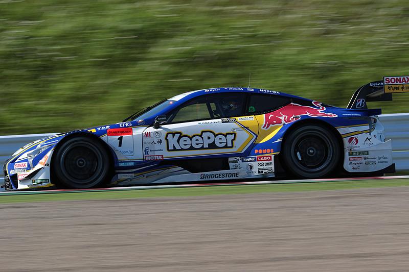 1号車 KeePer TOM'S LC500(平川亮/ニック・キャシディ組、BS)
