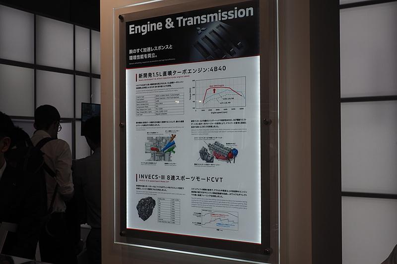 エクリプス クロスと搭載する1.5リッターエンジン