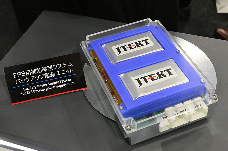 2.2V~3.8V 高耐熱リチウムイオンキャパシタを4個使った「EPS用補助電源システム」