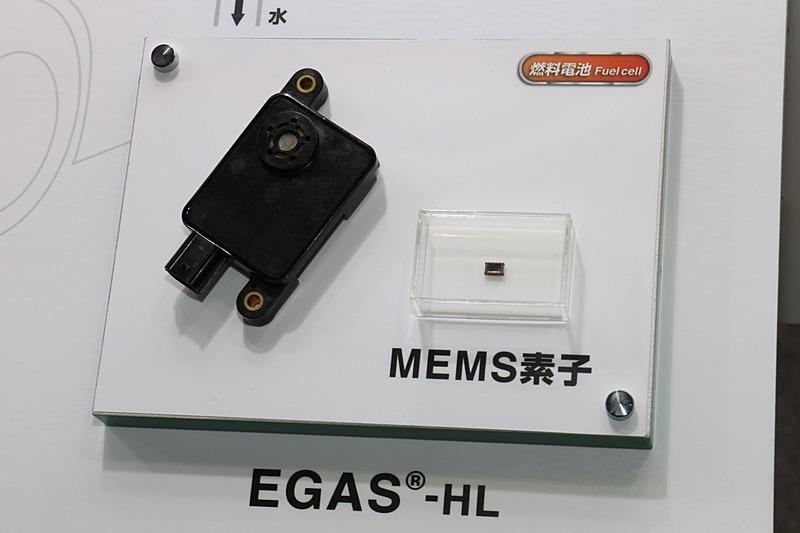 NTKブランドで市販化されている「水素漏れ検知センサ」の「EGAS-HL」
