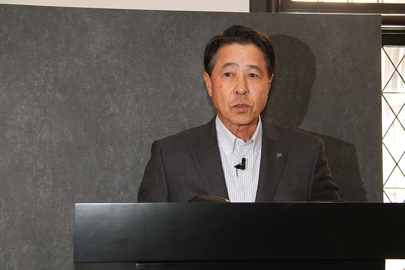マツダ株式会社 代表取締役社長兼CEO 小飼雅道氏