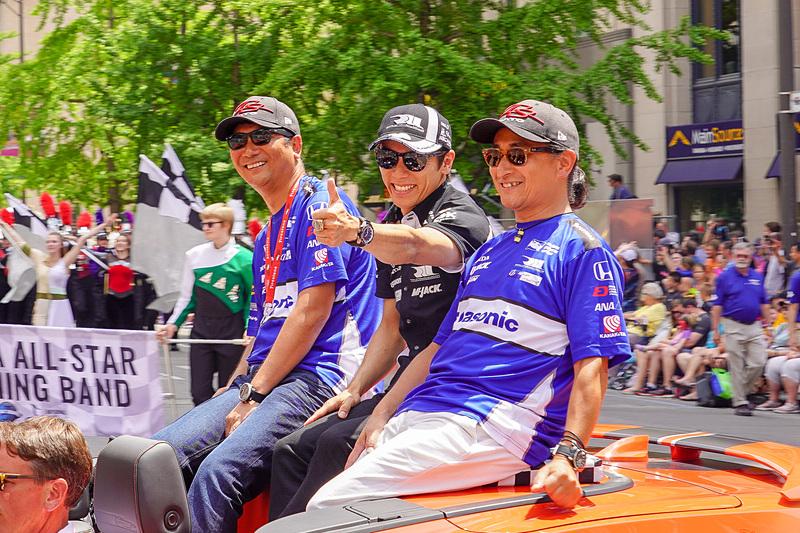 予選16位になった2017年インディ500ウィナー佐藤琢磨選手