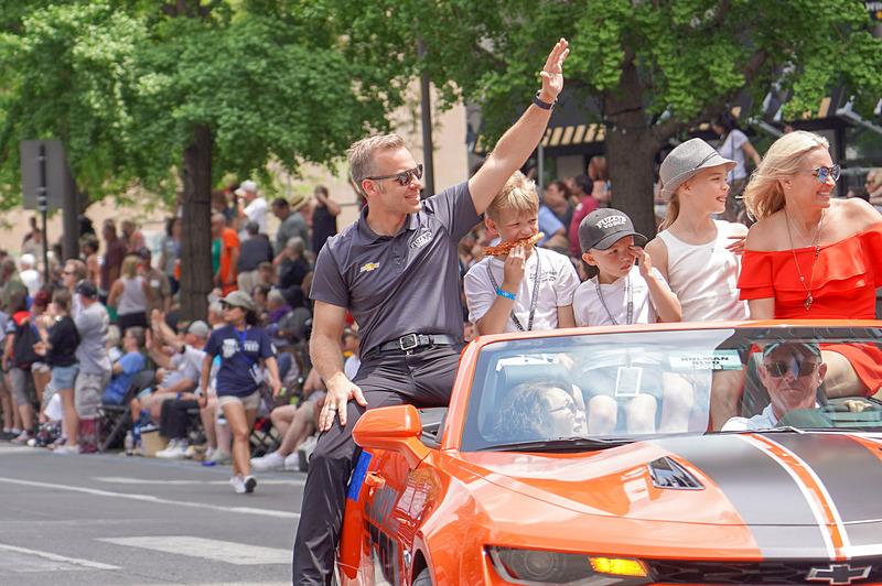 第102回 インディアナポリス500マイル・レース、ポールシッターのエド・カーペンター選手