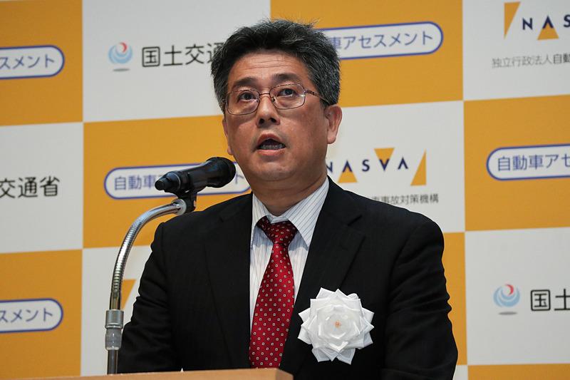 国土交通省 自動車局 技術政策課 課長 江坂行弘氏